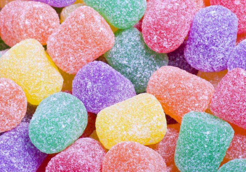 candy kropli blisko kolorowe gumę, zdjęcie royalty free