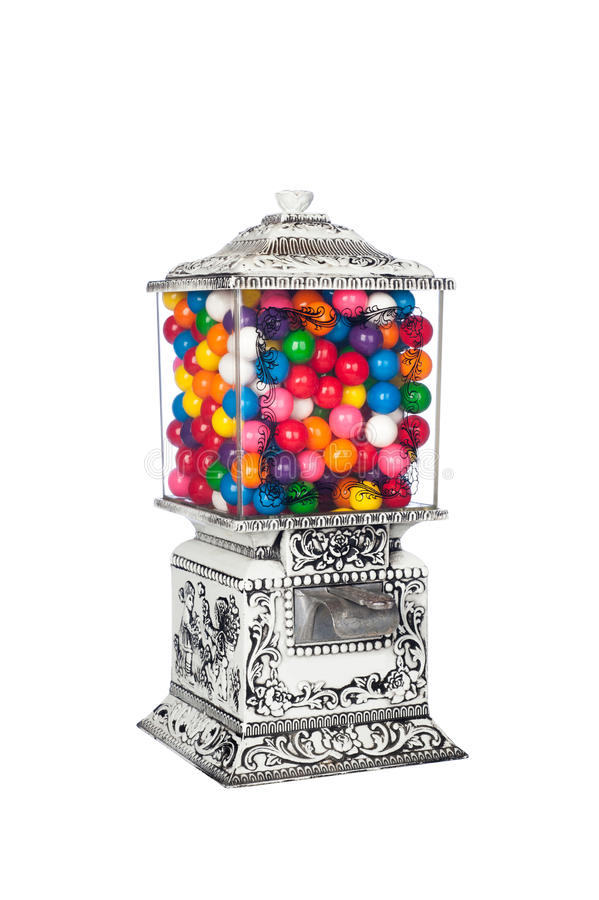 Download Candy Machine stock image. Image of machine, antique - 25199273