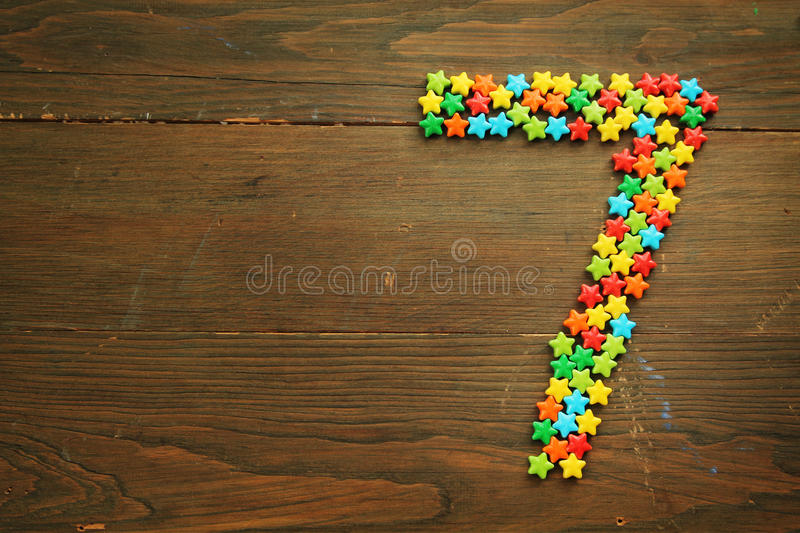 Download Candy Number Seven Stock Photography - Image: 23046372