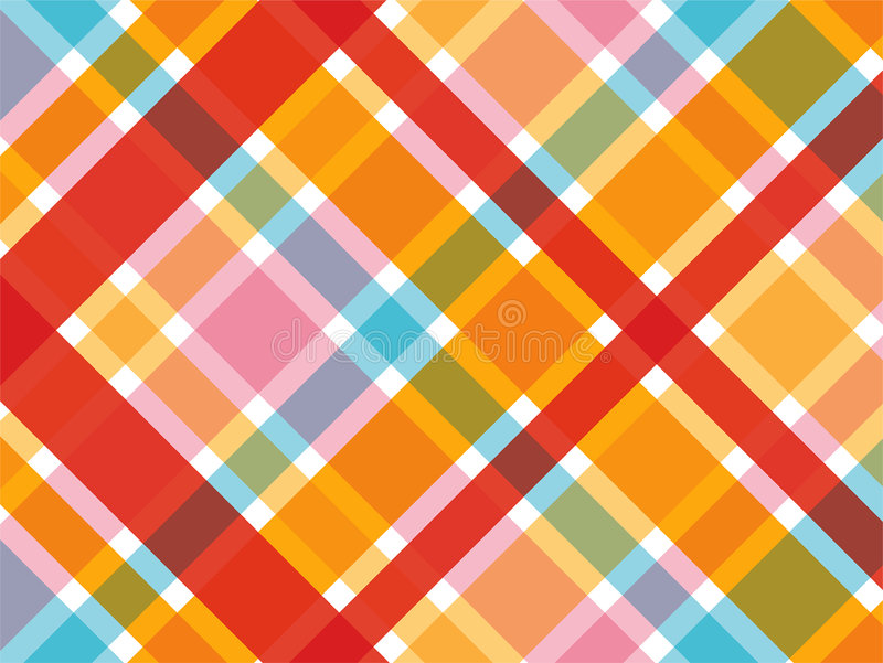 Candy red and pink plaid royalty free stock image