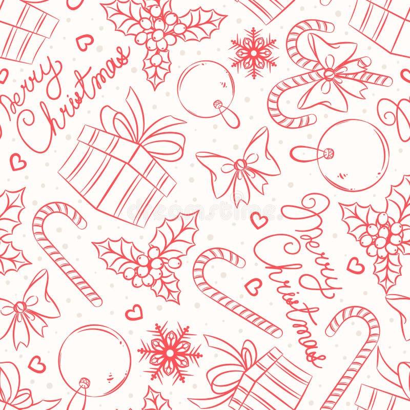 Candy, regali e saluti royalty illustrazione gratis
