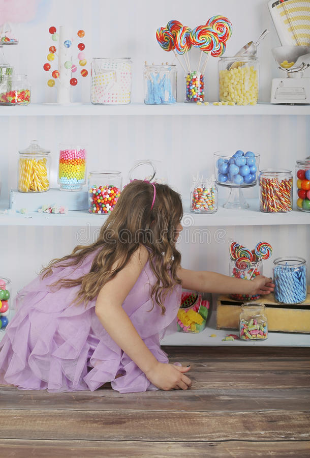 Download Candy shop stock photo. Image of candies, cute, blonde - 30330964