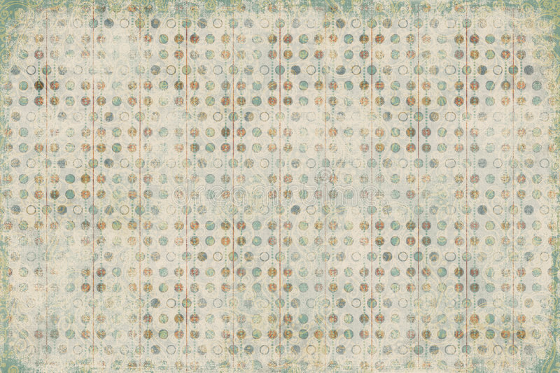 Candy spotted Textured Scrapbook Paper stock photos