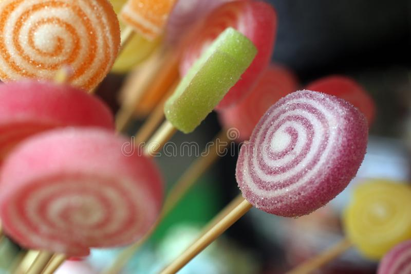 candy t?a kolorowe obraz stock