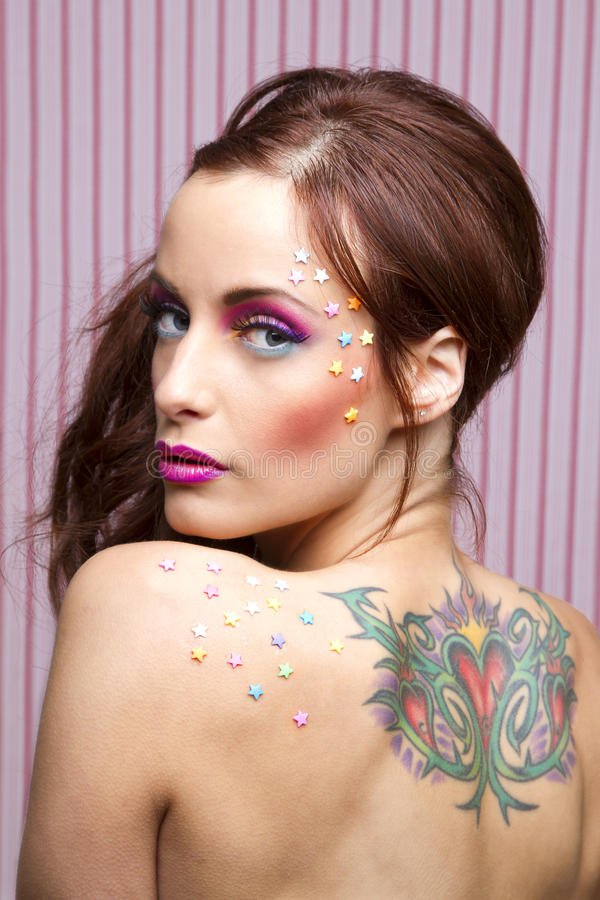 Download Candy And Tattoo Royalty Free Stock Images - Image: 25090039