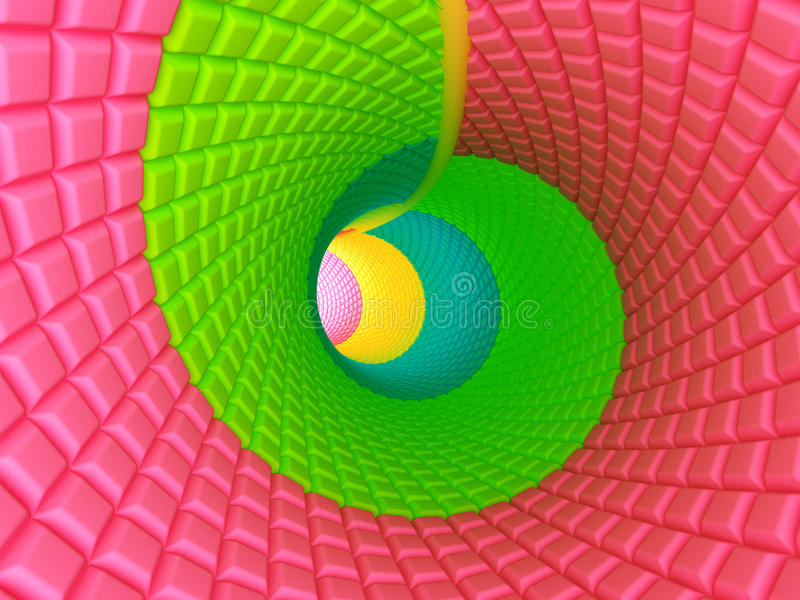 Download Candy tunnel stock illustration. Image of move, abstract - 26268959