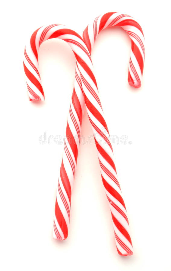 Candycanes stockbild