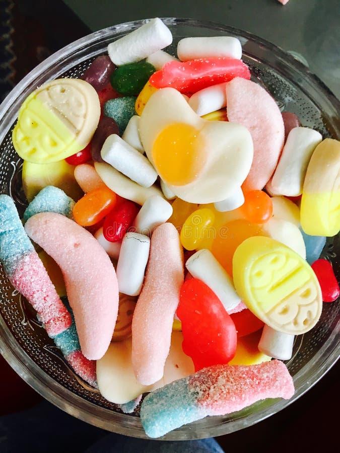 Candyland sur samedi après-midi en Norvège image libre de droits
