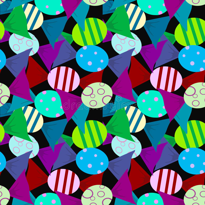 Candys pattern color with background. Big royalty free illustration