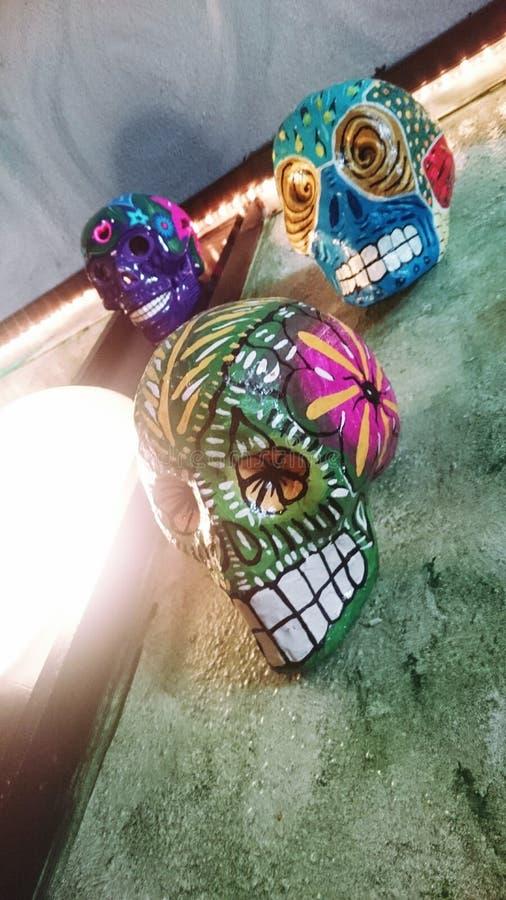 CandySkulls стоковые изображения rf