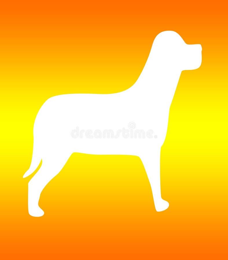 Cane illustrazione di stock