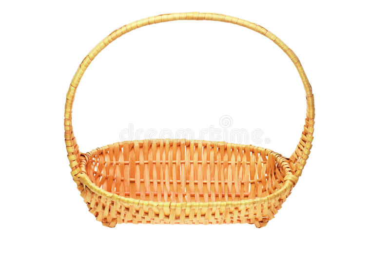 Download Cane basket with handle stock photo. Image of wicker - 21451464
