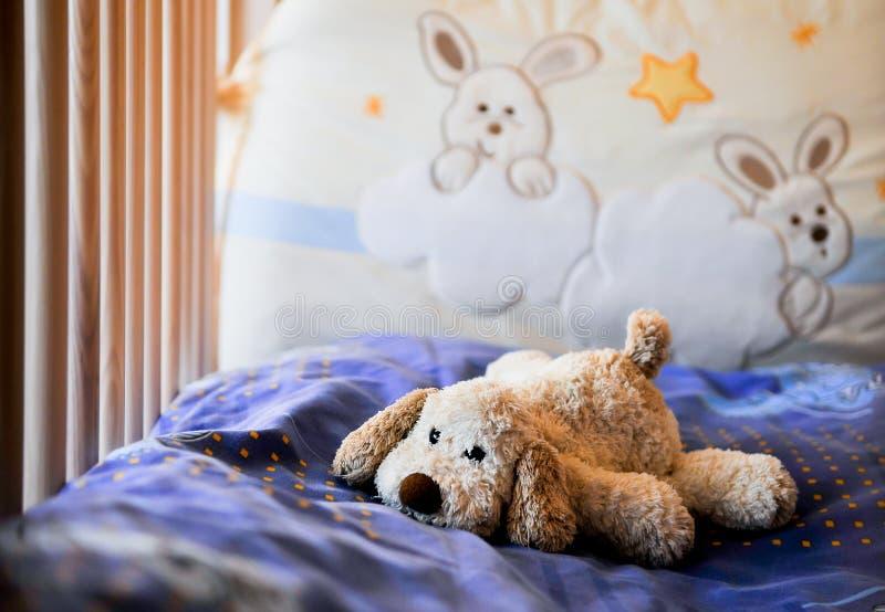 Cane di giocattolo immagine stock