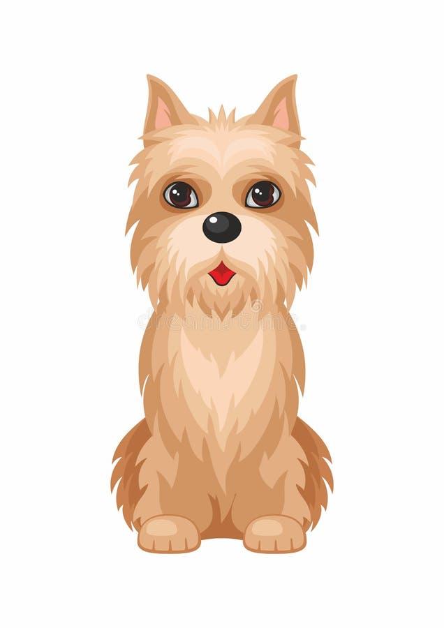 Cane di Terrier di cairn royalty illustrazione gratis