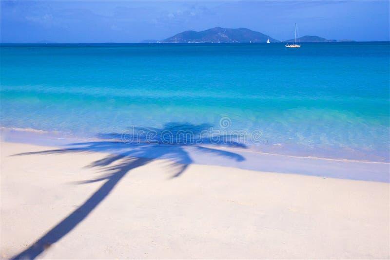 Cane Garden Bay en Tortola, del Caribe fotografía de archivo libre de regalías