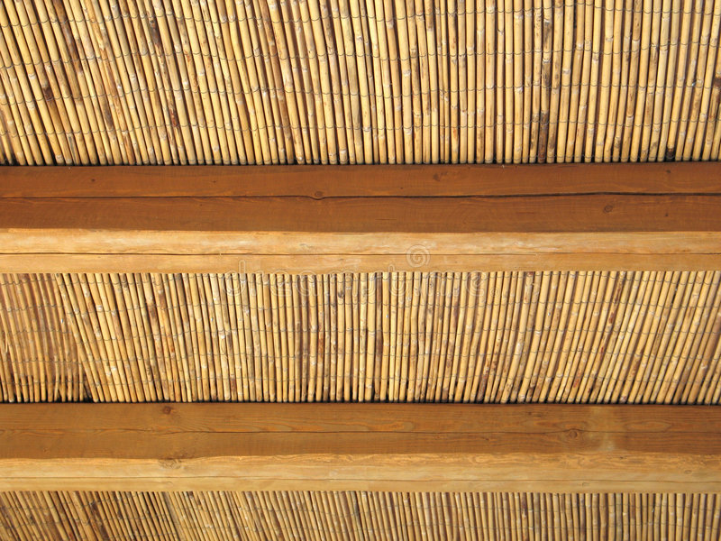 Download Cane Roof Abstract stock photo. Image of wooden, cane, reed - 173132