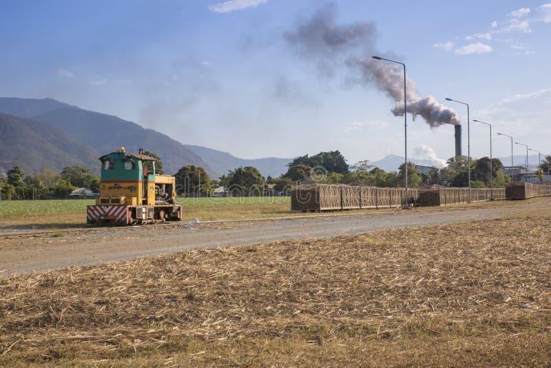 Cane Trains et moulin de Mulgrave photo libre de droits