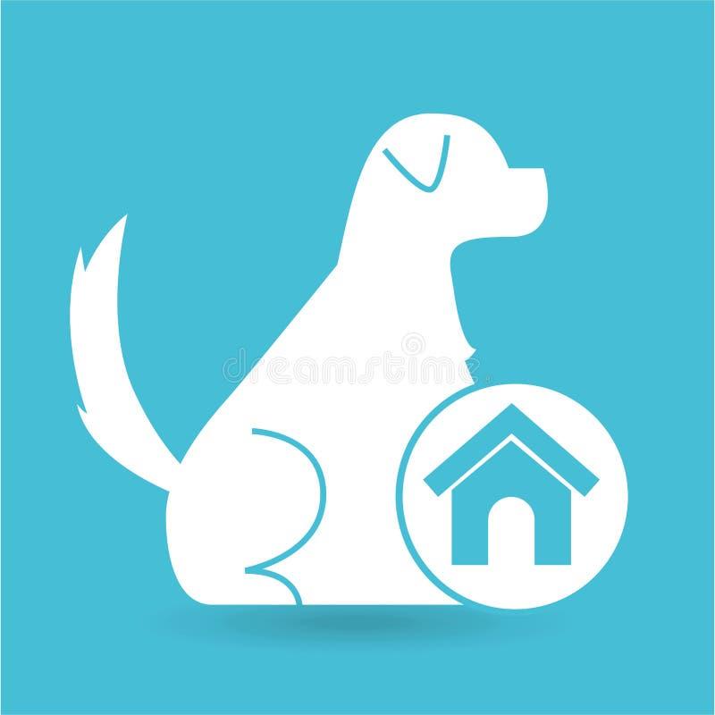 Cane veterinario della casa di concetto della clinica for Aprire case di concetto