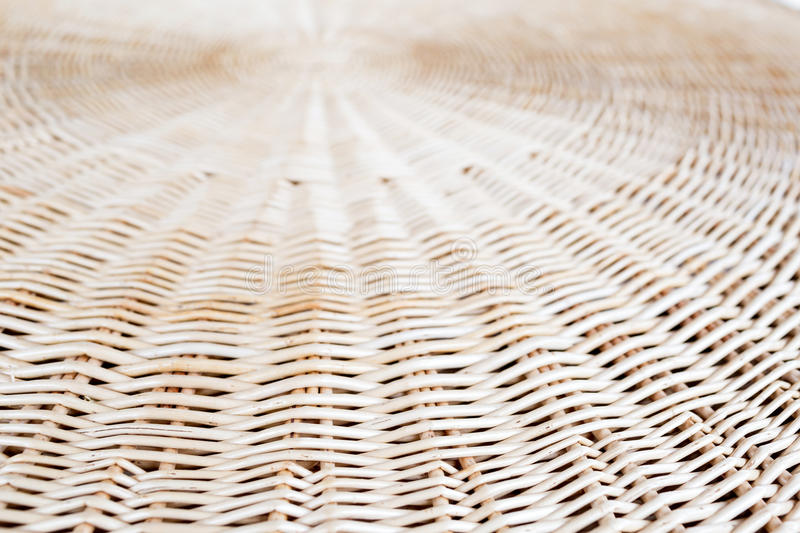 Cane or wickerwork background- showing the details of interlaced weave structure of basket or furniture royalty free stock images
