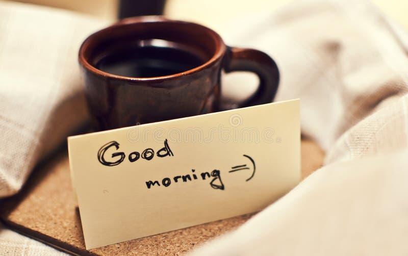 Caneca da manhã de coffee2 foto de stock