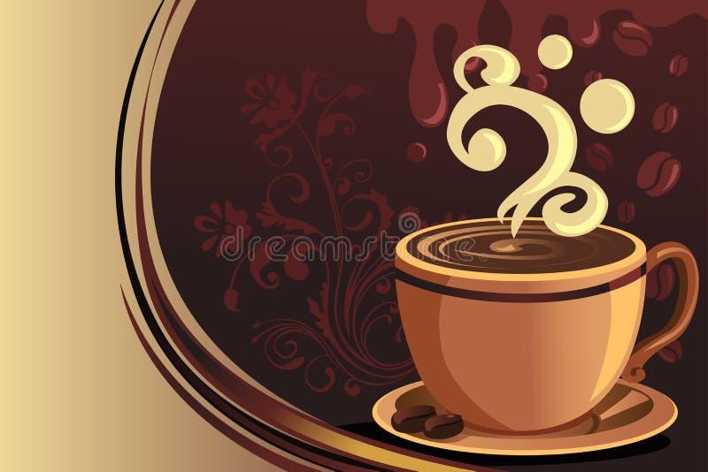 Caneca de café ilustração stock