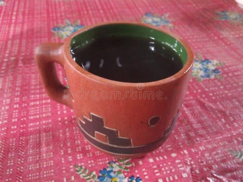 Caneca de café mexicana imagens de stock royalty free