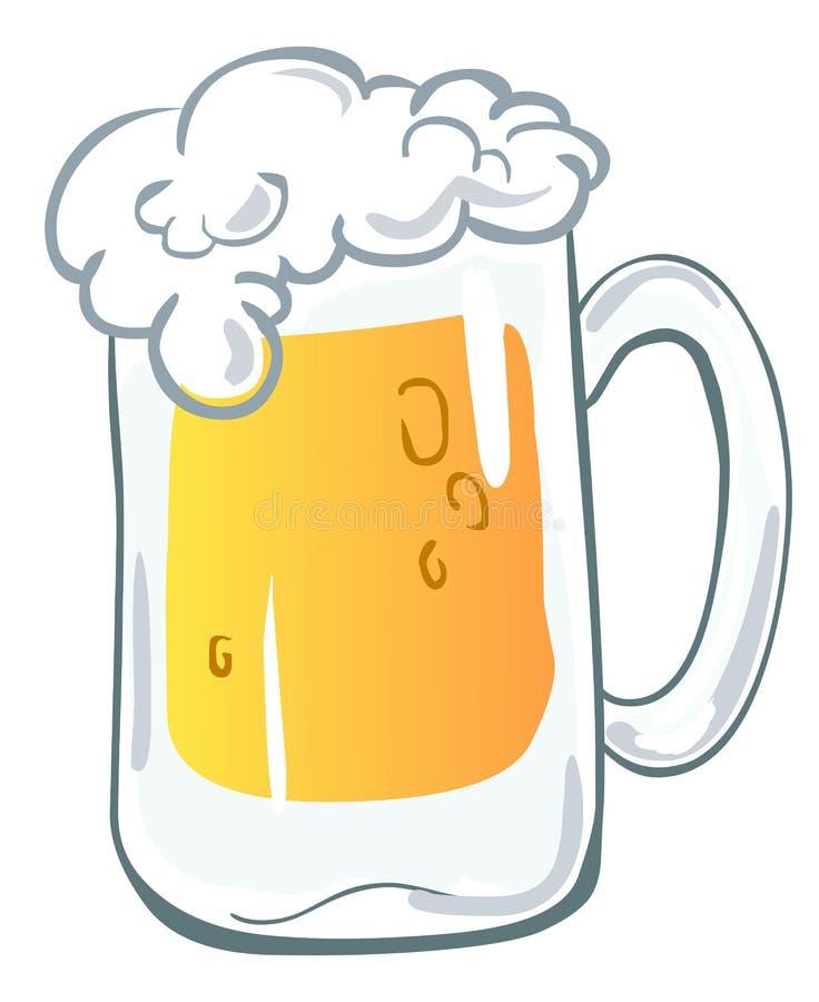 Caneca de cerveja ilustração royalty free
