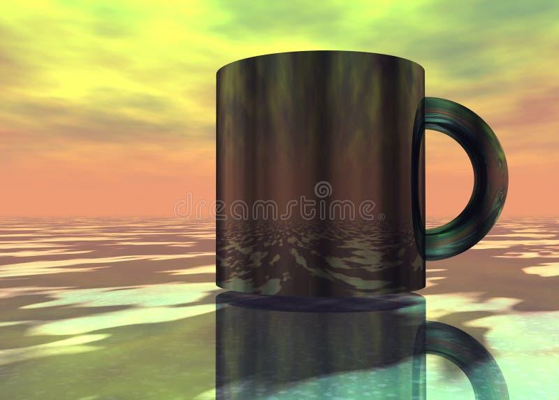 Caneca do future-2 imagens de stock royalty free