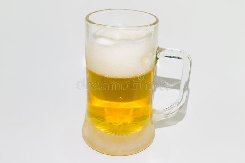 Caneca fria de cerveja imagens de stock royalty free