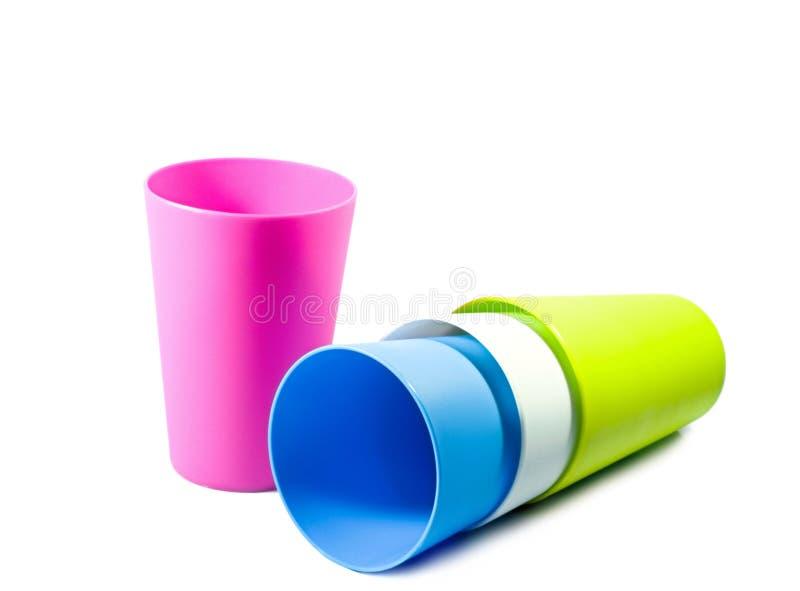Download Caneca do plástico da cor imagem de stock. Imagem de objetos - 29830087