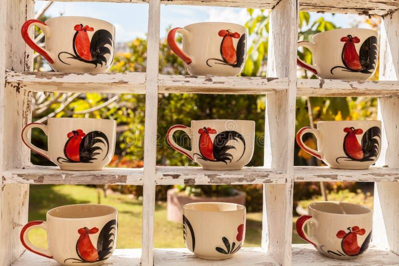Canecas de café imagem de stock royalty free