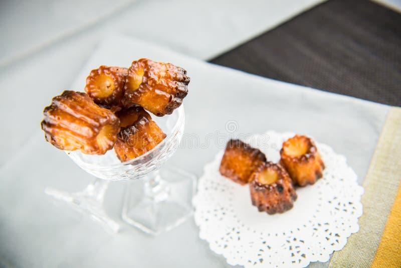 Canelé французского печенья стоковое фото rf
