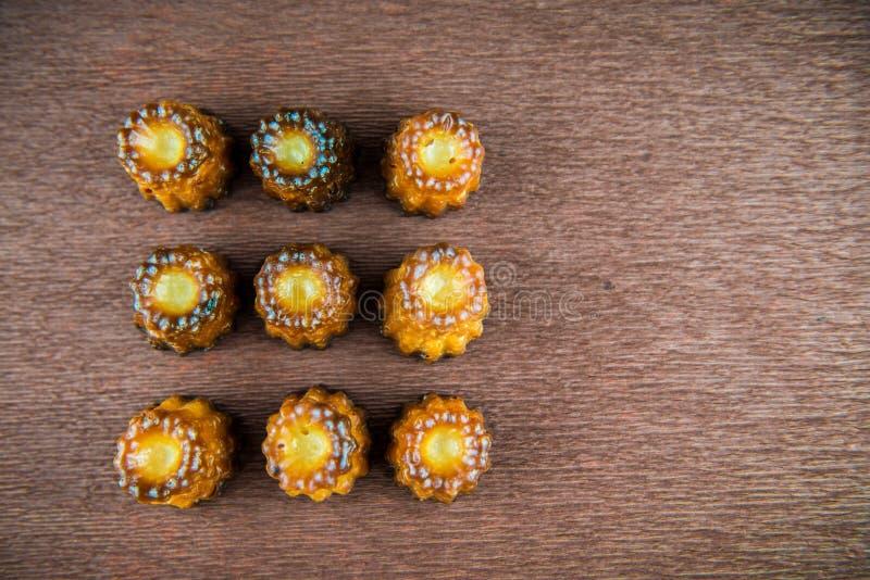 Canelé французского печенья стоковое фото