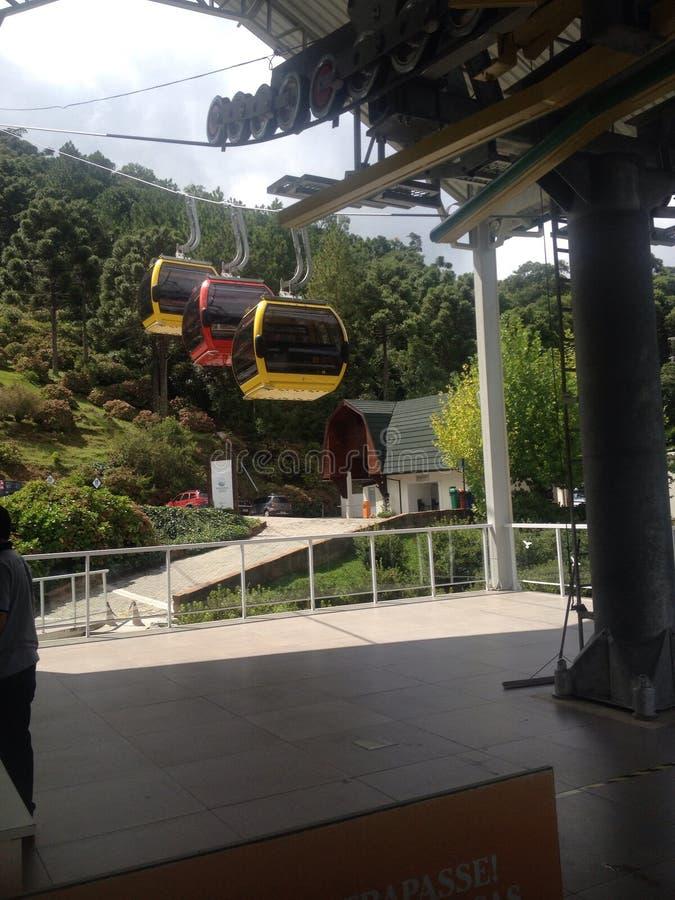 Canela aéreo Bondinho стоковое изображение