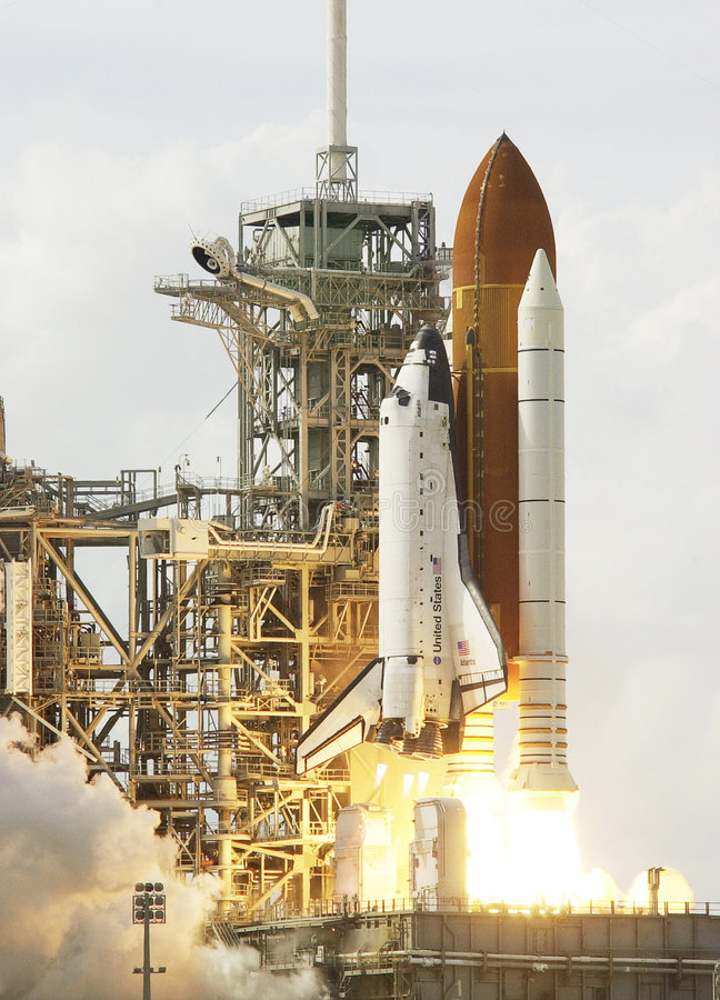 Canela de espaço imagens de stock royalty free