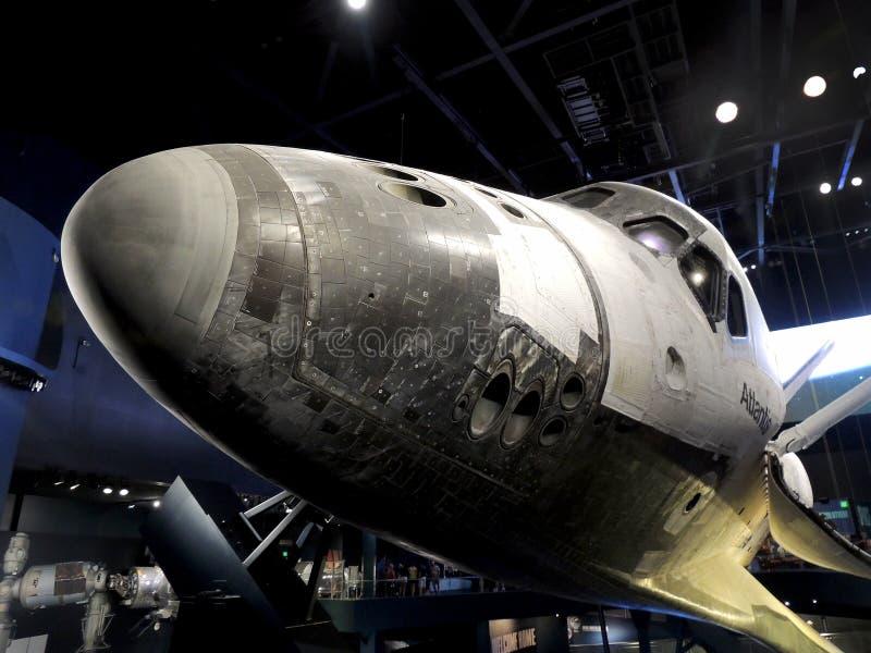 Canela de espaço Atlantis fotografia de stock