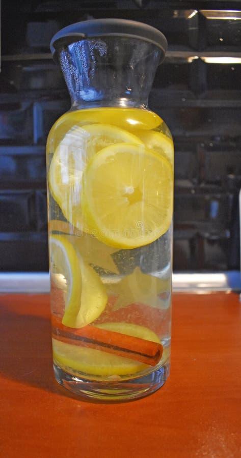 Canela e limão imagens de stock