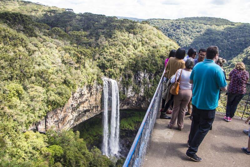 Canela - Rio Grande do Sul - Brasilien arkivbild