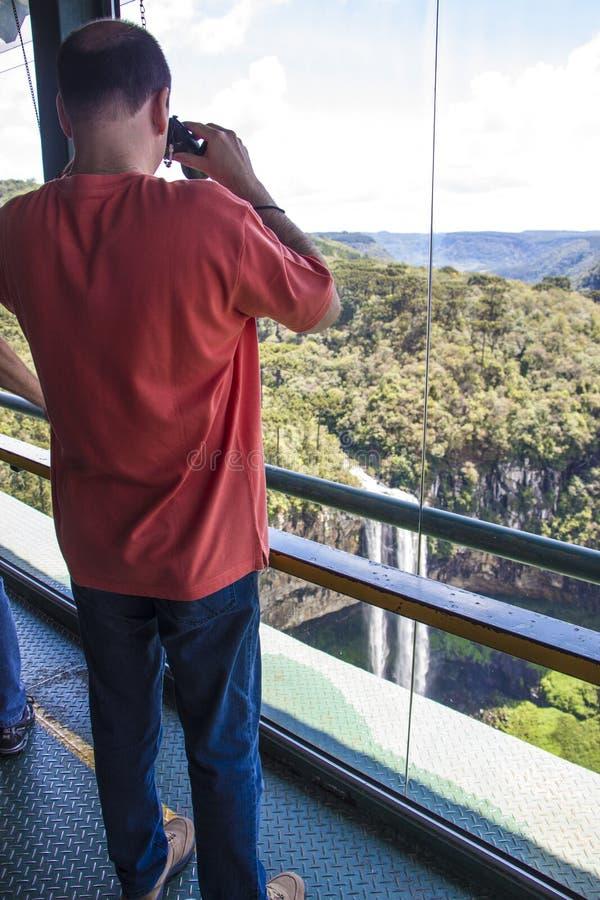 Canela - Rio Grande do Sul - Brasilien royaltyfri fotografi