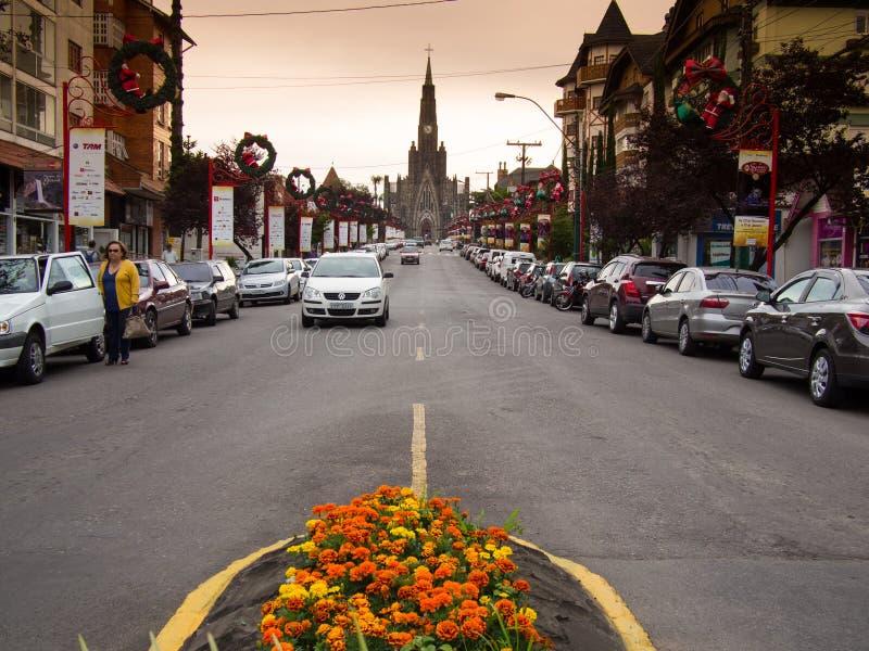 Canela stad royaltyfria bilder