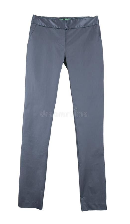 Caneleiras cinzentas das calças imagem de stock royalty free