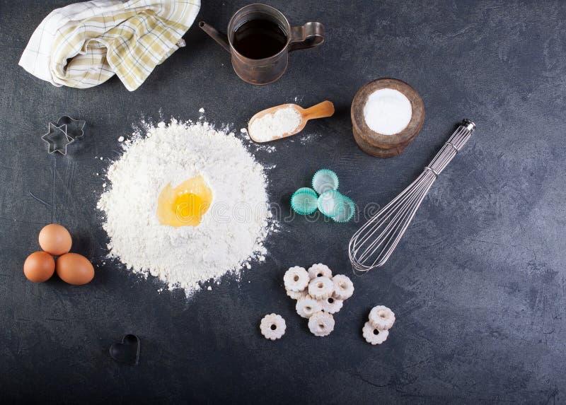 Canestrelli, итальянские печенья shortbread стоковые изображения