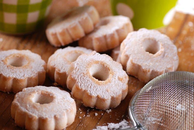 Canestrelli, традиционные итальянские печенья стоковые изображения