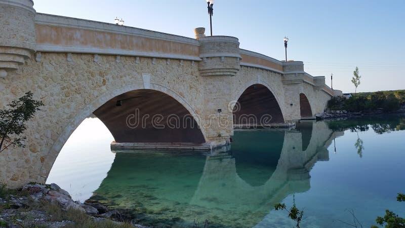 Cangrejo Cay Bridge imagen de archivo libre de regalías