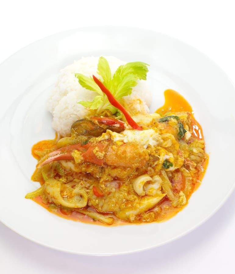 Download Cangrejo Frito Con El Polvo De Curry Foto de archivo - Imagen de delicioso, alimento: 41905644