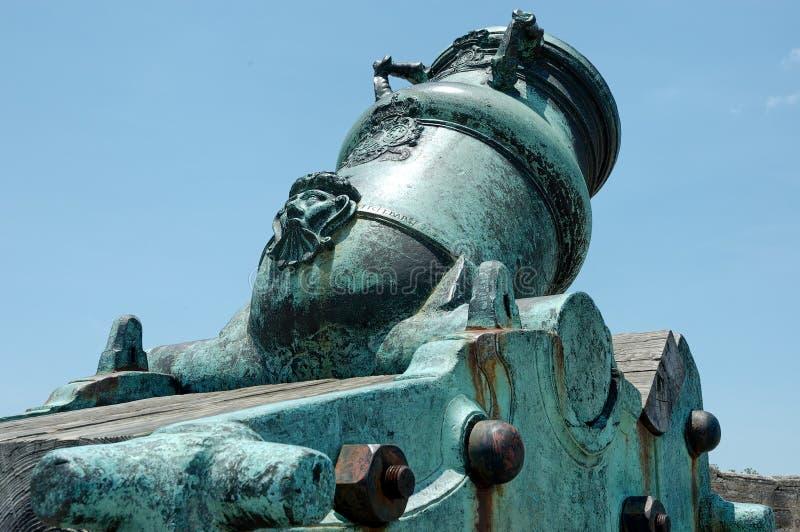 Canhão 2007 do forte do St. Augustine (37) imagens de stock royalty free