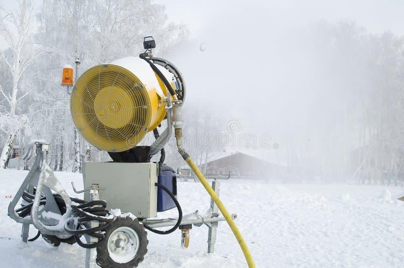 Canhão da neve foto de stock royalty free