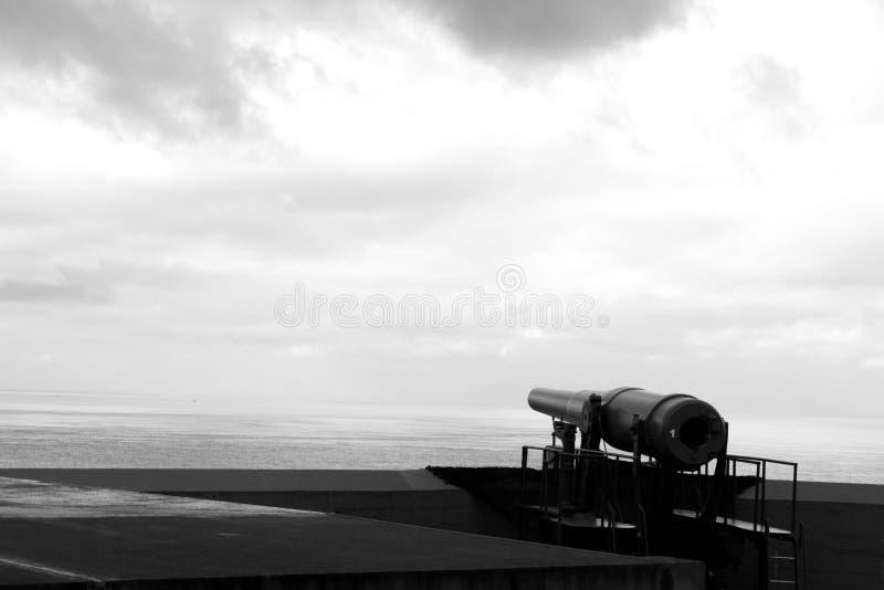 Canhão da Primeira Guerra Mundial fotos de stock