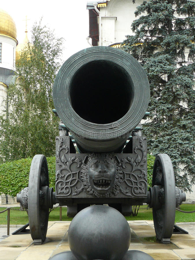 Canhão de Tsar fotografia de stock royalty free