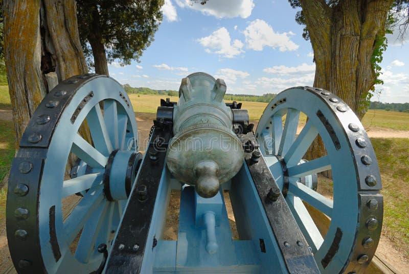 Canhão de Yorktown imagens de stock royalty free